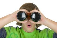 бутылки eyes держат подросток Стоковые Фотографии RF