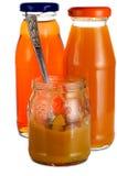 бутылки puree 2 стоковые фотографии rf