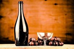 бутылкой стоковое изображение rf
