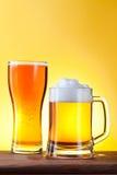 бутылочное стекло пива Стоковые Фото