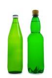 бутылочный зеленый изолировал 2 Стоковое фото RF