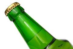 бутылочный зеленый пива Стоковые Изображения