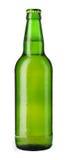 бутылочный зеленый пива стоковое изображение