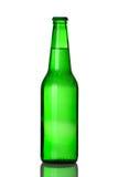 бутылочный зеленый пива Стоковые Фото