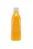 Бутылка апельсинового сока Стоковые Изображения