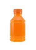 Бутылка апельсинового сока Стоковые Фото