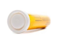 Бутылка витаминов Стоковое Изображение RF