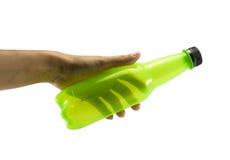 Бутылка владением руки Стоковые Изображения RF