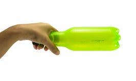 Бутылка владением руки Стоковая Фотография RF