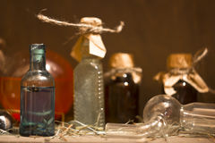 Бутылка зелья Стоковые Изображения