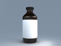 Бутылка медицины Стоковое Изображение