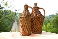 Бутылка лозы Стоковая Фотография RF