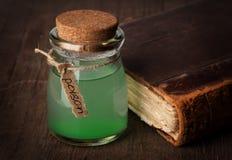 Бутылка отравы Стоковые Фото