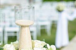 Бутылка песка Стоковая Фотография
