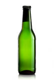 Бутылка пива или сидра на белой предпосылке Стоковое Изображение RF