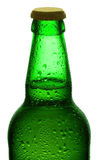 Бутылка пива. Путь клиппирования, Стоковое Фото