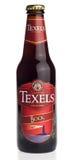Бутылка пива ремесла крепкого темного пива Texels голландца Стоковые Фотографии RF