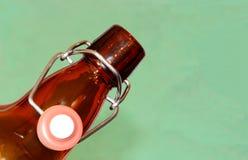Старомодная бутылка пива Стоковое Изображение RF