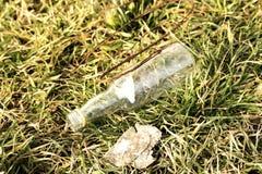 бутылка пустая Стоковое Изображение