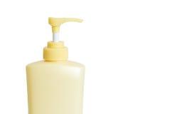 Бутылка пластмассы насоса распределителя Стоковые Фото