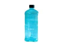 Бутылка с водой с черной крышкой Стоковые Фото