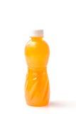Бутылки апельсинового сока изолированные на белизне Стоковое Изображение