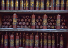 Бутылки бальзама черноты Риги Стоковое Фото
