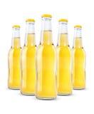 Бутылки безалкогольного напитка изолированные на белизне Стоковые Фото