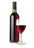 Бутылки белого вина Стоковая Фотография
