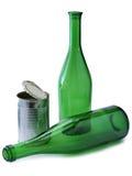 Бутылки вина одно Стоковые Фото