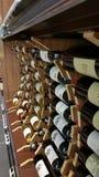 Бутылки вина для продажи Стоковое фото RF