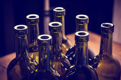 Бутылки вина Стоковое Изображение RF