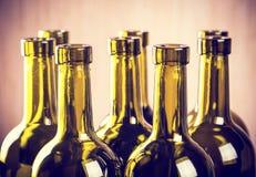 Бутылки вина Стоковые Фотографии RF
