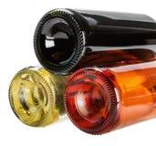 Бутылки вина Стоковое Изображение