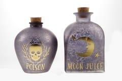 Бутылки зелья стоковая фотография rf