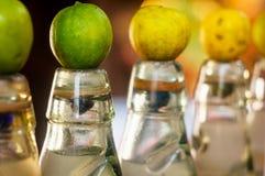 Бутылки индейца по месту сделали banta безалкогольного напитка Стоковое Изображение RF