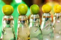 Бутылки индейца по месту сделали banta безалкогольного напитка Стоковое Изображение
