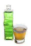 Бутылки и стекло коктеилей Мартини Стоковые Изображения RF