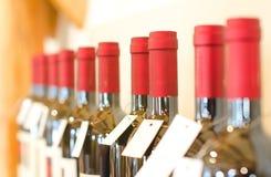 Бутылки красного вина Стоковые Фотографии RF