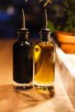Бутылки масла Стоковая Фотография