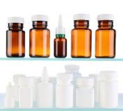 Бутылки медицины Стоковая Фотография
