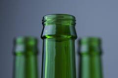 бутылки опорожняют Стоковые Изображения