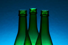 бутылки опорожняют Стоковая Фотография RF