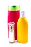 Бутылки лосьона Стоковое фото RF