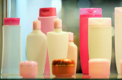 Бутылки лосьона Стоковое Фото