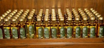 Бутылки оливкового масла, Джордана, Ближний Востока Стоковые Изображения RF