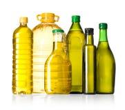 Бутылки оливкового масла Стоковые Фотографии RF
