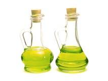 Бутылки оливкового масла Стоковая Фотография RF