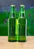 бутылки пива 2 Стоковые Изображения