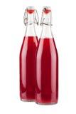 2 бутылки свежего сиропа смородины Стоковые Изображения RF
